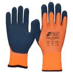 "Winter-Nylonhandschuhe, orange ""Soft Grip W"""