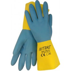 "Latex-Neoprene-Handschuhe ""Dual-Barrier"""